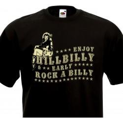 T-shirt Enjoy Hillbilly &...