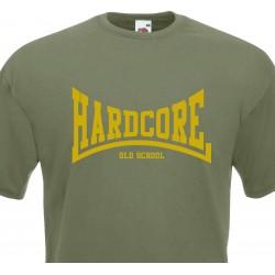 T-shirt Hardcore Old School...