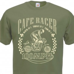 T-shirt Cafe Racer Kick it...