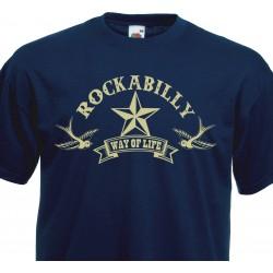 T-shirt Rockabilly Way of Life