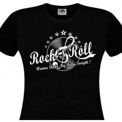 T-shirt femme Rock'n'Roll...